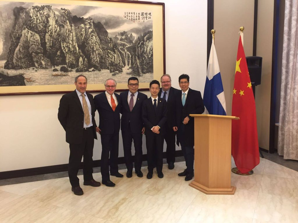 Investment Delegation at Chinese Embassy